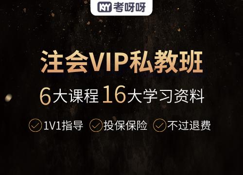 注册会计师VIP私教班